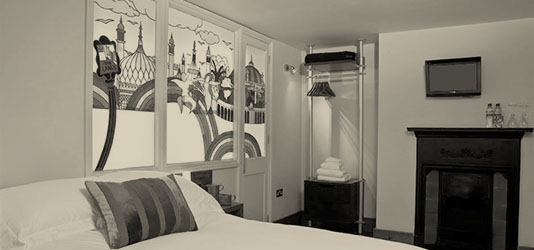 Feature Double Rooms at Guest and the City, Brighton Bed and Breakfast